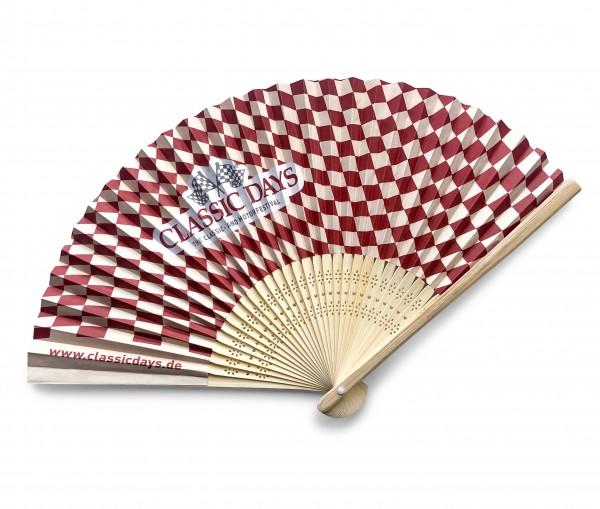 Festival Papierfächer aus Bambus