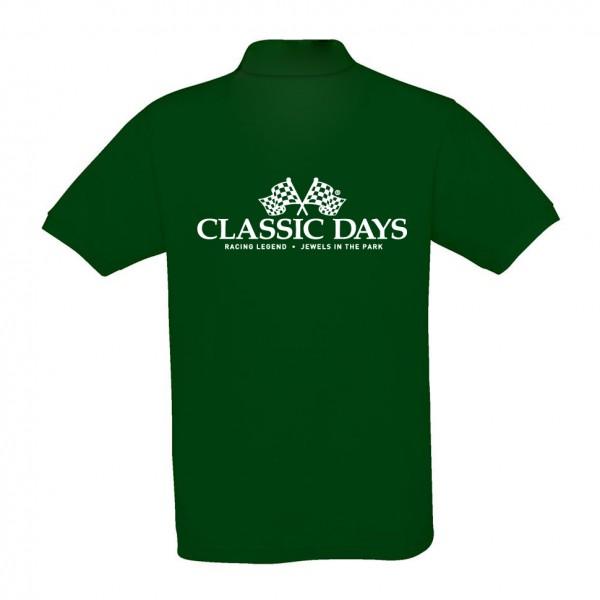 Herren Poloshirt | Classic Days Logo | dunkelgruen