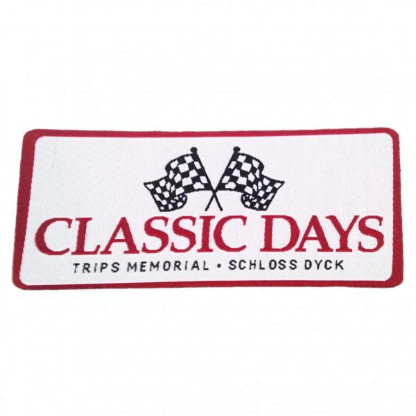 Aufnäher mit Classic Days Logo