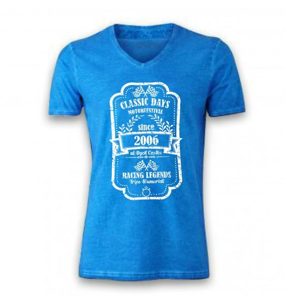 Vintage Shirt | The Motorfestival | blau