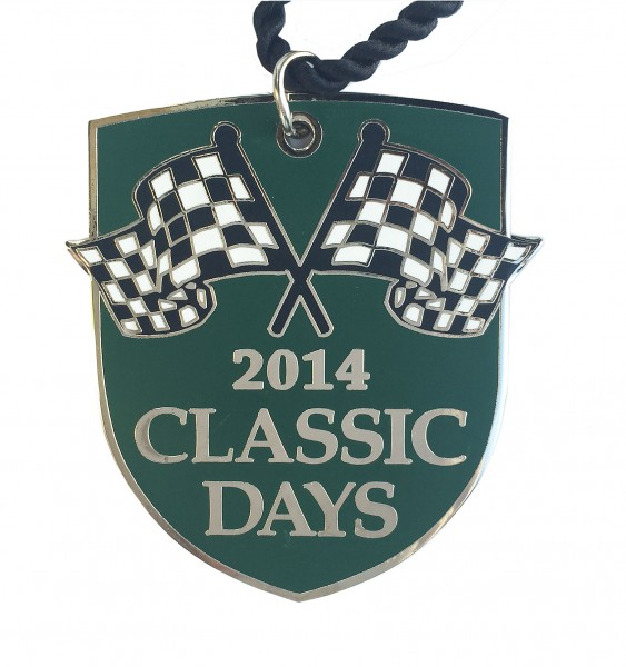 Jahres-Badge   Classic Days 2014
