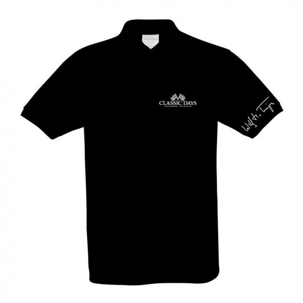Poloshirt | Wolfgang Graf Berghe von Trips | schwarz