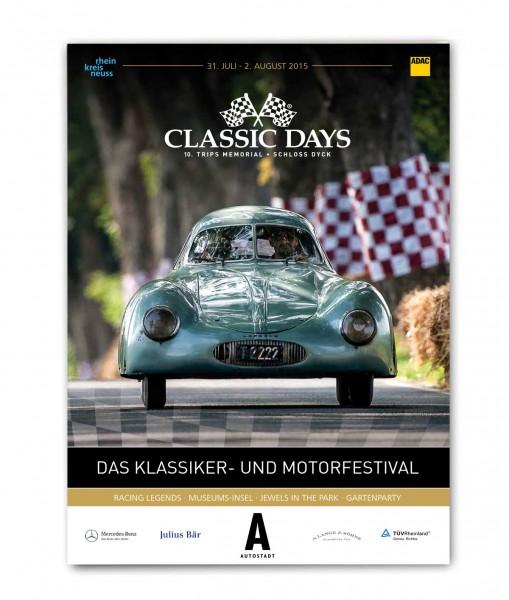 Offizielles Programmheft Classic Days 2015