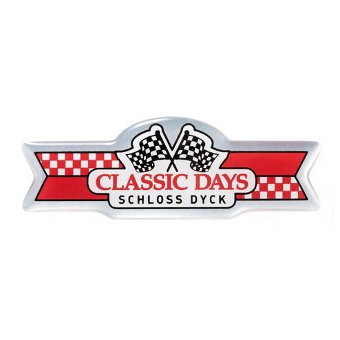3D-EPOXY Aufkleber | Classic Days Logo