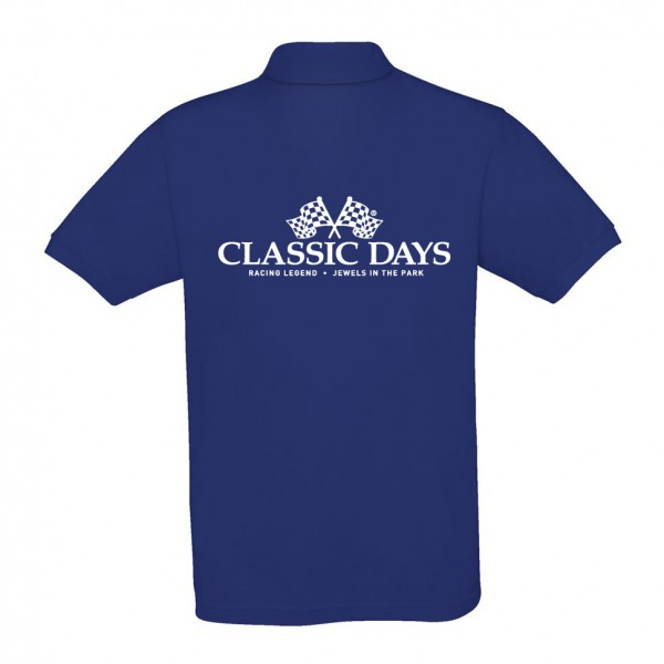 Herren Poloshirt | Classic Days Logo | dunkelblau
