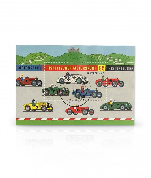 Briefmarke Historischer Motorsport Nürburgring