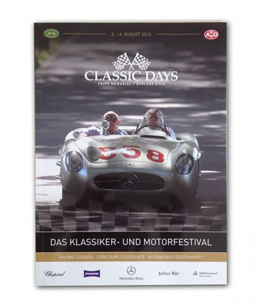 Offizielles Programmheft Classic Days 2013