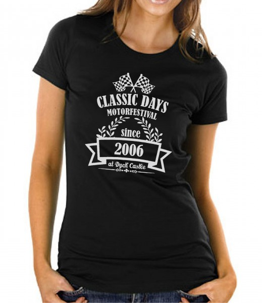 Vintage Shirt | The Classic- and Motorfestival | schwarz