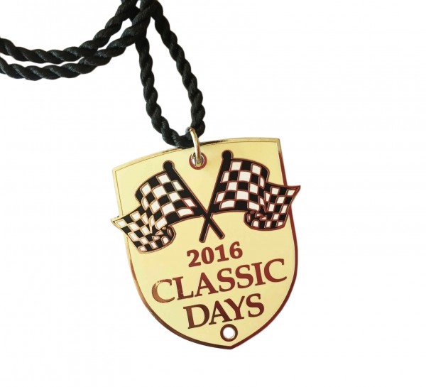 Jahres-Badge | Classic Days 2016