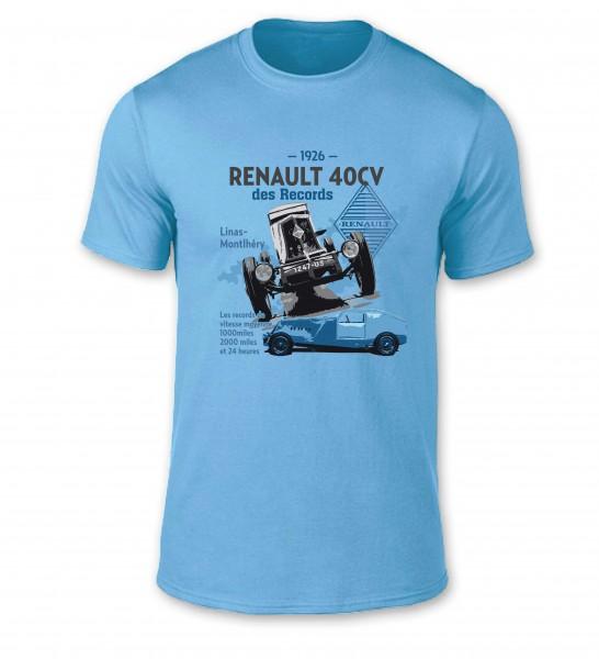 T-Shirt | Renault 40CV Rekordwagen