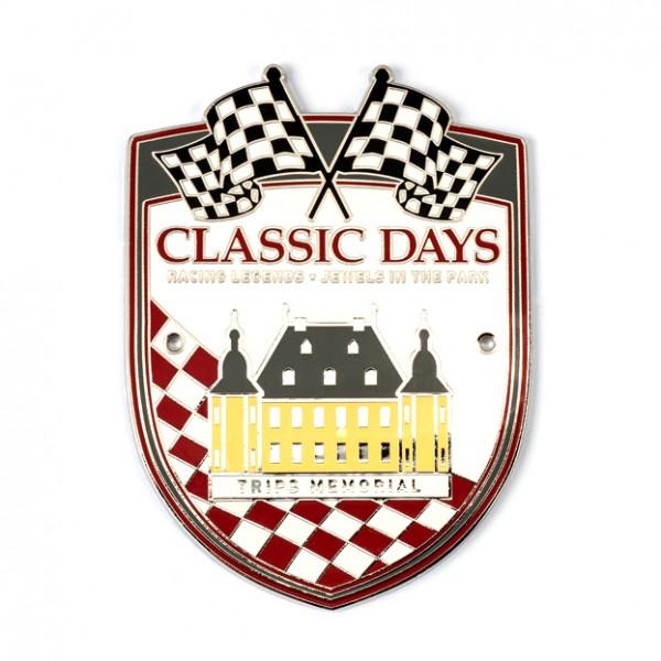 Classic Days Badge mit 2 Bohrlöchern